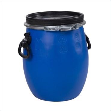 Бочка синяя 20 литров - фото 5087