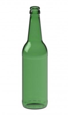 Бутылка пивная 0,5 Лонг Нек зеленая - фото 7148