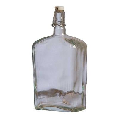 """Бутылка стеклянная """"Викинг"""" с бугельной пробкой 1,75 л - фото 7483"""
