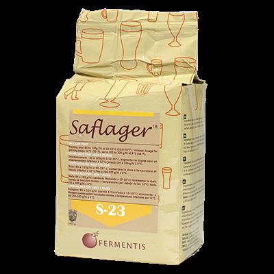 Дрожжи пивные Saflager S-23 0,5 кг - фото 7629