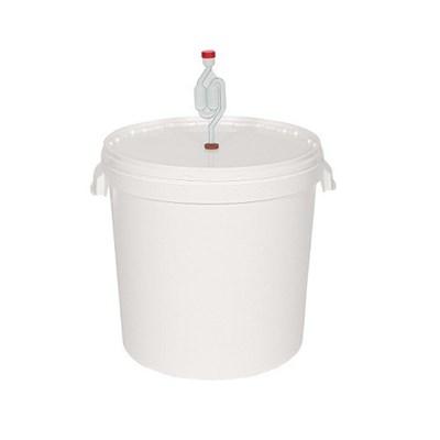 Бак 32 литра для брожения с гидрозатвором - фото 8490