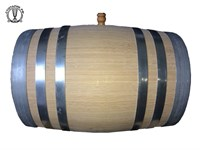 Бочка 50 литров без подставки (обжиг, воск)