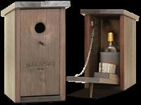 Бар скворечник Магарыч венге (бутылка+чехол+3 стопки)