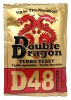 Турбо-дрожжи DoubleDragon D48 132 гр.
