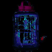 Банка с фиолетовой крышкой с краном 16 л