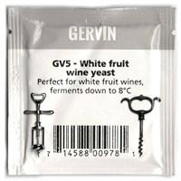 """Винные дрожжи Gervin """"White Fruit Wine GV5"""", 5 г"""