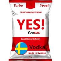 Турбо дрожжи YES! Vodka 45 гр.