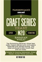 Дрожжи пивные Mangrove Jacks Craft series Yeast - Bavarian Wheat M 20  20 гр.