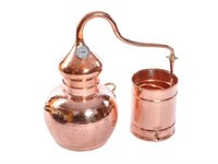 Аламбик классический 15 литров с термометром