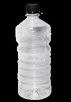 Бутылка пластиковая 0,8 литра прозрачная