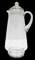 Кувшин 1,7 литра 310 мм. прозрачное стекло без декора