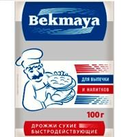 """Дрожжи сухие активные """"Бекмая"""" 100 гр"""