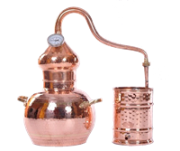 Аламбик классический 30 литров с термометром