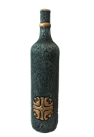 "Бутылка грузинская глиняная ""Крест"""