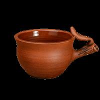 Чашка с листочками