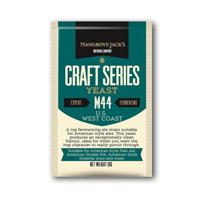 Дрожжи Mangrove Jacks Craft Series Yeast-US West coast M44 - фото 10706