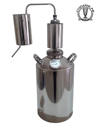 Дистиллятор Лидер Премиум Экспорт 25/100/t РС - фото 10769