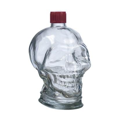"""Бутылка стеклянная """"Череп"""" 1 л - фото 10863"""