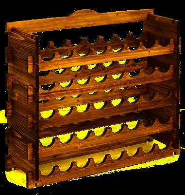Стеллаж Магарыч на 40 бутылок - фото 11076