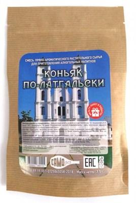 Набор для настаивания Коньяк по-латгальски 7 гр. 1л-5дн, 3л-14дн - фото 15308