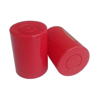 """Колпачок с дозатором типа """"Гуала"""" красный (длина 46 мм) - фото 15544"""