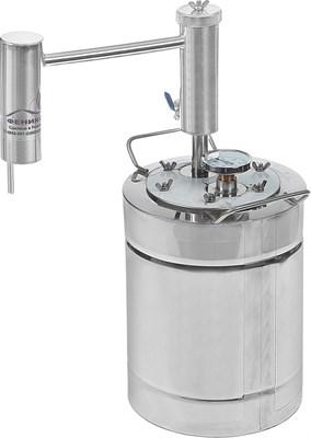 """Дистиллятор """"Феникс"""" Эконом 12 литров с разборным сухопарником - фото 15580"""