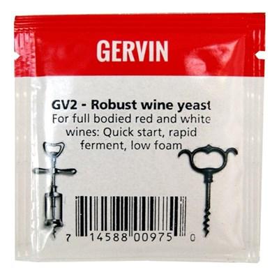 "Винные дрожжи Gervin ""Robust Wine GV2"", 5 г - фото 21322"