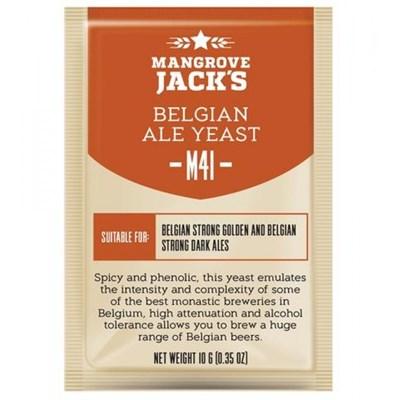 Дрожжи Mangrove Jacks Craft Series Yeast - Belgian Ale M41 - фото 21387