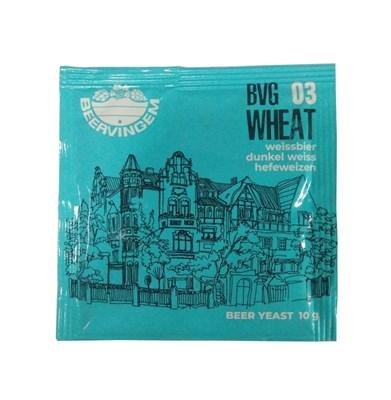 """Дрожжи Beervingem для пшеничного пива """"Wheat BVG-03"""", 10 г - фото 21484"""