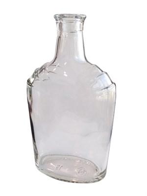 Бутылка под пробку камю 0,5 литра (СКР) бесцветная - фото 21538