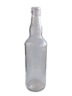 """Бутылка """"Монополь"""" винтовая 0,5 л бесцветная - фото 21541"""