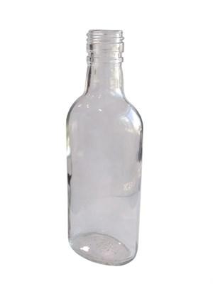 """Бутылка """"Гаврош"""" винтовая 0,25 л бесцветная - фото 21545"""