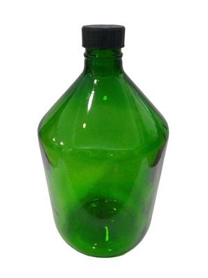 Бутыль 10 литров Казацкий зеленое стекло - фото 21589