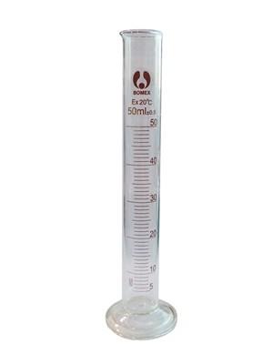 Цилиндр мерный стекло 1-50-2 - фото 21593