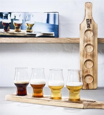 Rastal набор Beer Flight Set (4 бокала по 19cl) - фото 21685