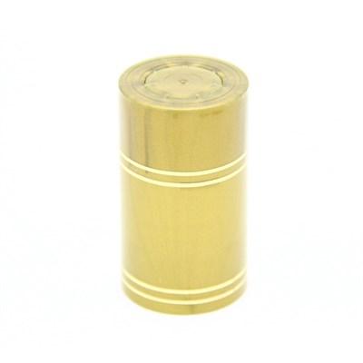 """Колпачок с дозатором типа """"Гуала"""" золотой (длина 46 мм) - фото 21870"""