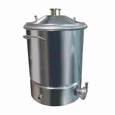 """Куб 35 литров с выходом 2"""" (купольная крышка, фальшдно) - фото 21930"""