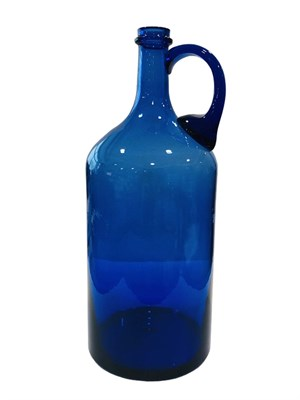 Бутыль 2 литра синяя с ручкой - фото 22079