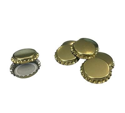 Кроненпробки золотые 80 шт - фото 22259