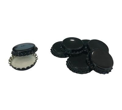 Кроненпробки черные, 80 шт - фото 22262