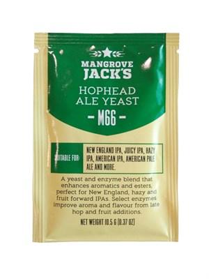 Дрожжи Mangrove Jacks Craft Series Yeast - Hophead Ale Yeast M66 - фото 22308