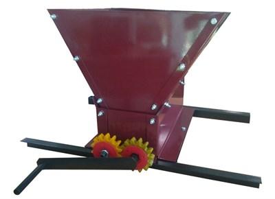 Дробилка механическая для винограда ДВ-5 с наборными валами - фото 22352