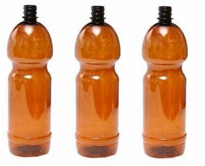 Бутылка пластиковая 1,5 литра темная - фото 4529