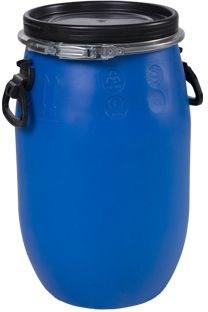 Бочка синяя 30 литров - фото 5068