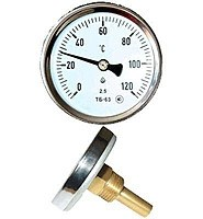 Термометр ТБ-63  0+120 - фото 6672