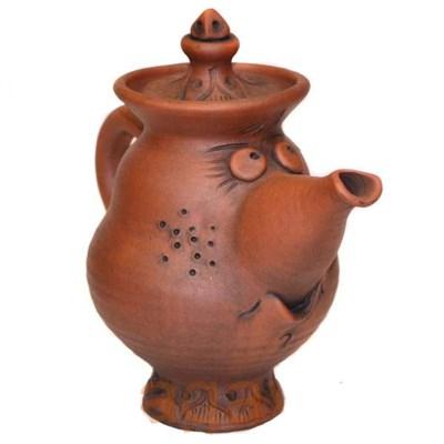 """Чайник """"Слоник"""" малый с глазурью - фото 6862"""