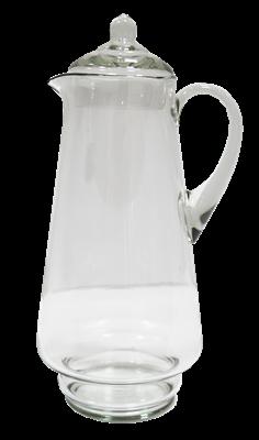 Кувшин 1,7 литра 310 мм. прозрачное стекло без декора - фото 7118