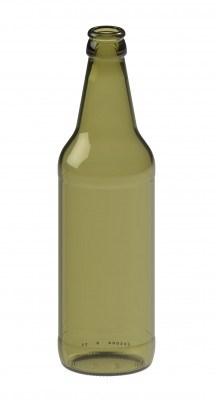 Бутылка пивная 0,5 Варшава оливковая - фото 7145