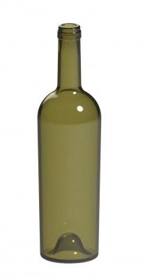 Бутылка винная 0,75 Коника оливковая - фото 7150
