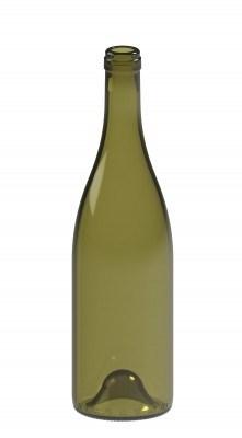 Бутылка винная 0,75 Бургундия оливковая - фото 7151
